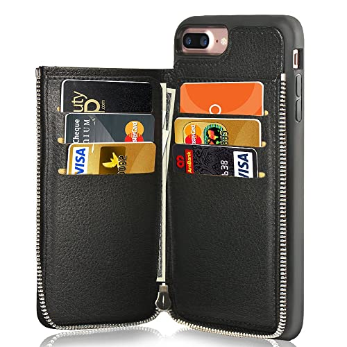 new style 41b5a 2cf25 iPhone Leather Wallet Case: Amazon.com