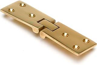 Polished Brass Counter Flap Hinge