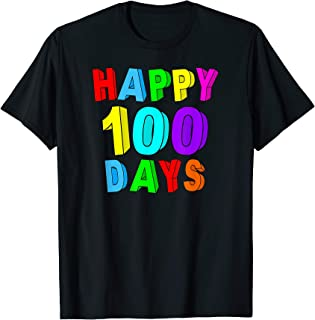 Happy 100th Day 100 Days Of School T-Shirt