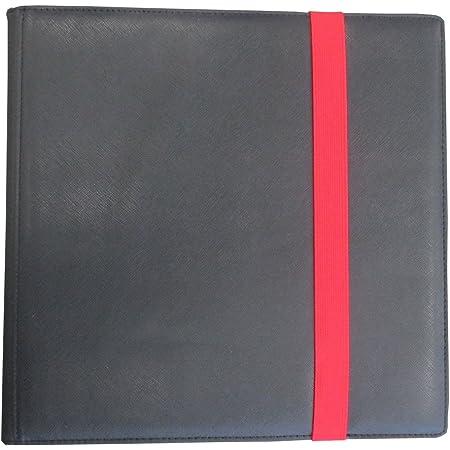 ホビーベース カードアクセサリコレクションシリーズ DEX 12ポケットバインダー ブラック CAC-CSX71