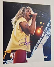 Sammy Hagar Signed Autographed 11x14 Photo VAN HALEN PSA/DNA COA