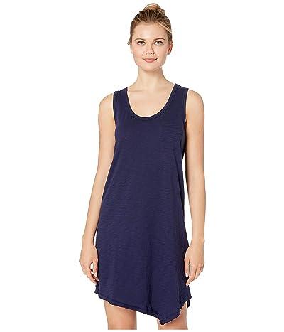 Lilla P Loose Knit Slub Tank Dress (Navy) Women