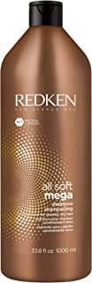 Redken All Soft Mega Shampoo | For Extremely Dry Hair | Moisturizes & Hydrates Severely Dry Hair | With Aloe Vera | 33.8 F...