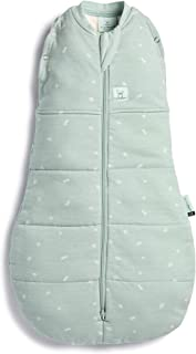 ergoPouch Organic Cotton Cocoon Swaddle Bag, 2.5 TOG, for Newborn Babies 0000, Sage