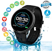 Fitness Tracker Smart Watch, with Heart Rate Monitor and Sleep Monitor,IP67 Waterproof Activity Tracker Watch Pedometer,Calories Counter,Stopwatch, compatiable with iOS Android Smartphone Smart Watch