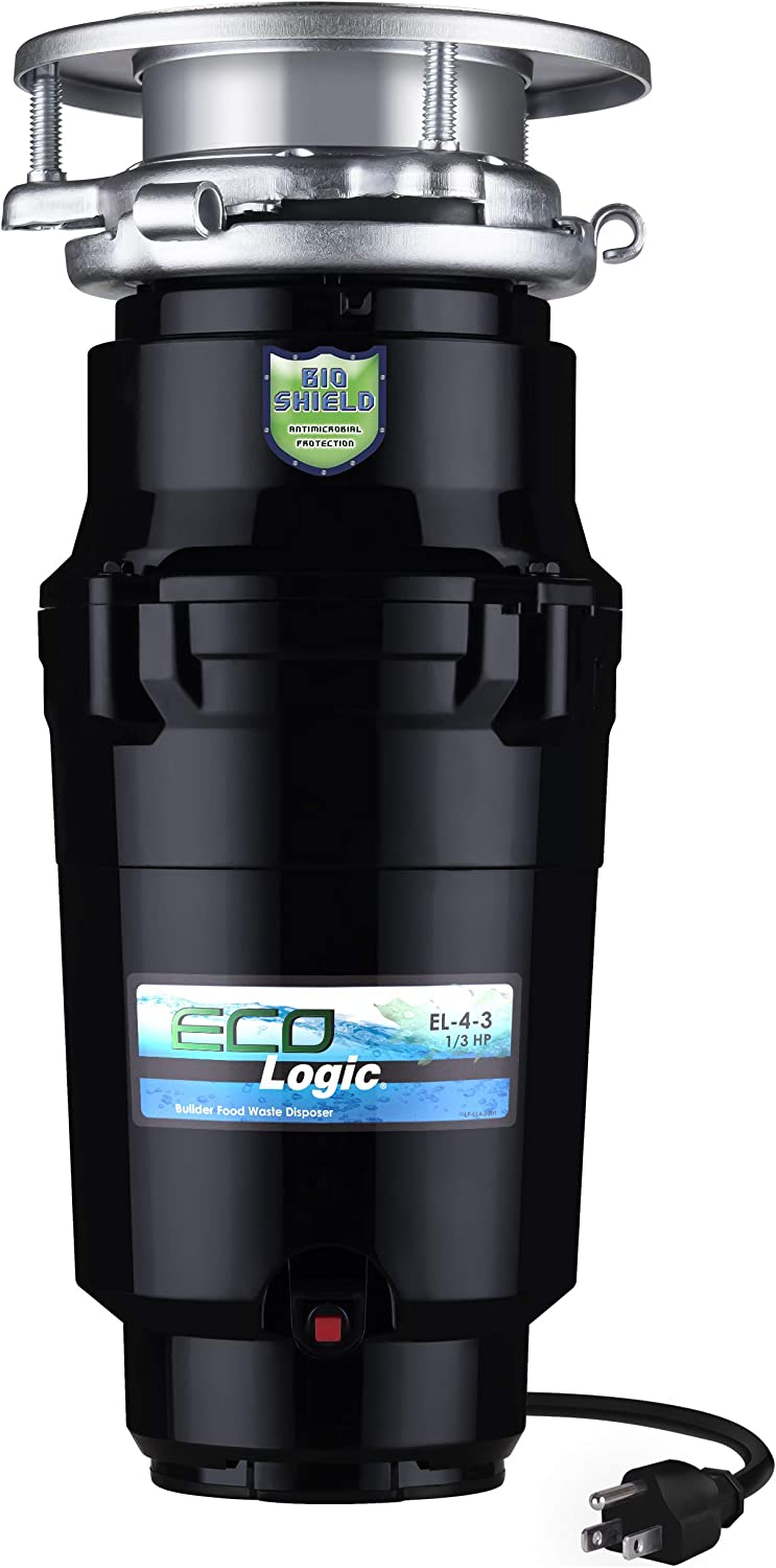 Eco Logic 10-US-EL-4-3B Garbage Minneapolis Mall Splash NEW before selling Disposal with Removeable