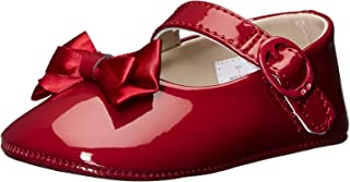 Kids' Patent SM with Bow Mary Jane-K Crib Shoe