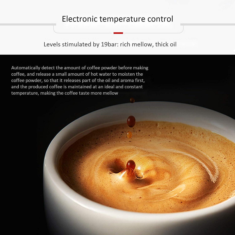 Koffie En Espresso, Espressomachine Met Ingebouwd Melkschuim En Instelbare Molen, Geschikt Voor Thuis En Op Kantoor Red