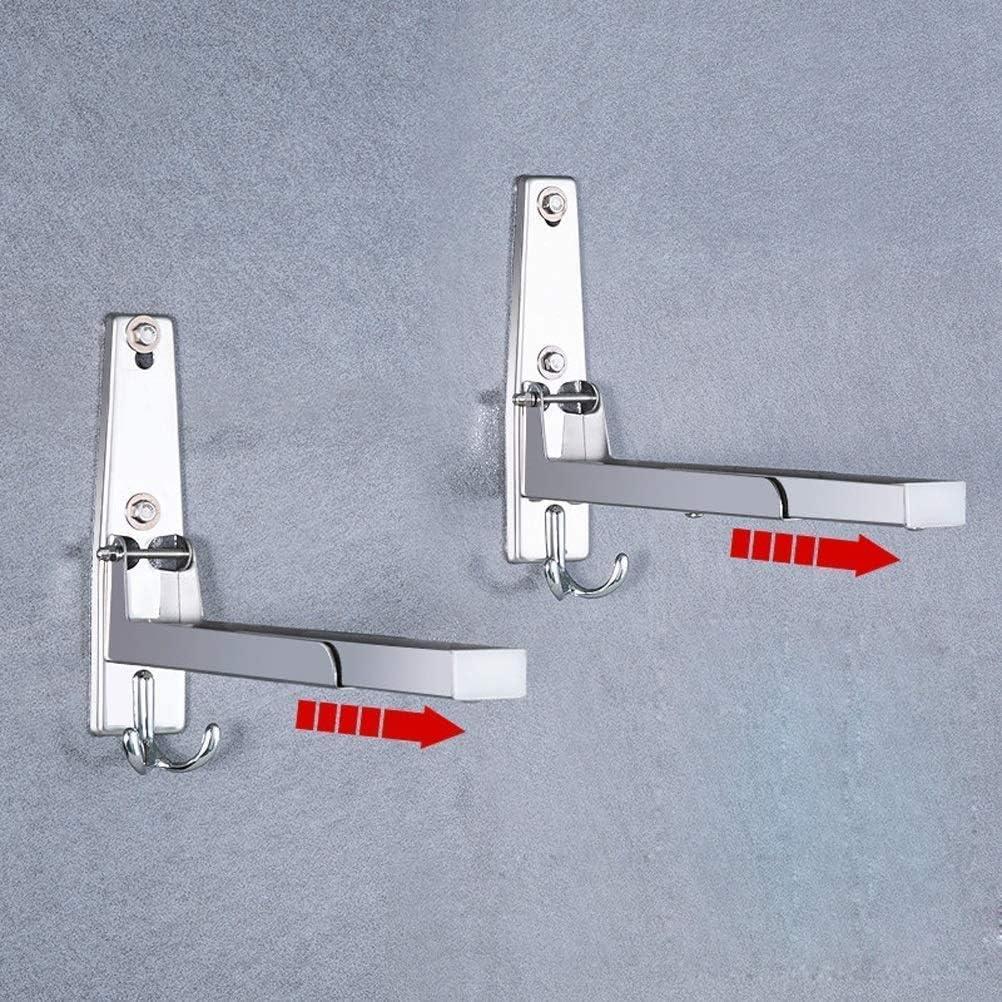 Support à Micro-Ondes étagère à Micro-Ondes étagère Murale en métal pour Four à Micro-Ondes pour Cuisine et Salon With Hook