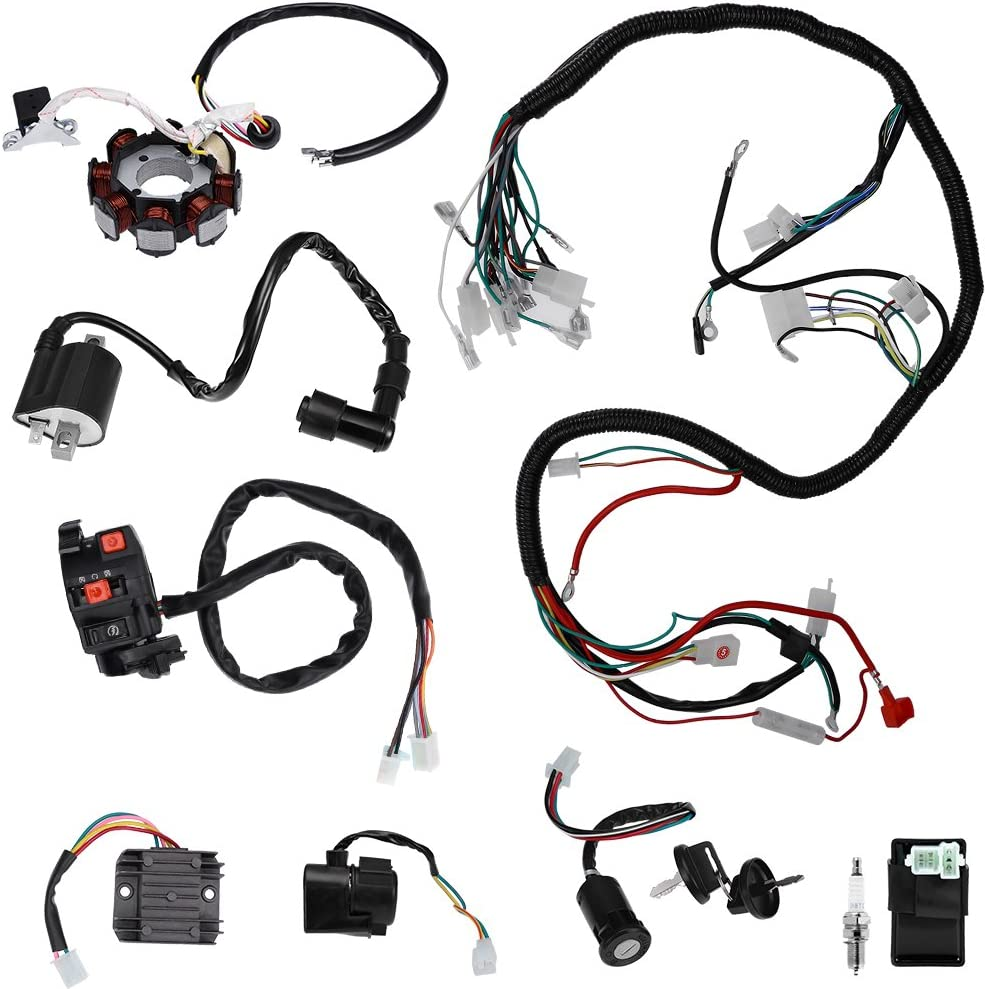 Complete Electric Wiring Harness Kit Stator Loom Sales of SALE items from new works Special sale item Electrics Wire