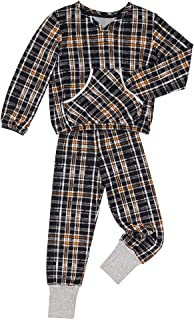 Pijama Longo Tricot Oxford Kids