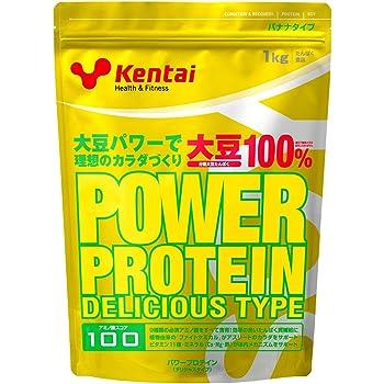 Kentai パワープロテイン デリシャスタイプ バナナ 1kg