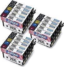 Jofoce Reemplazo para EPSON 29 29XL Cartuchos de tinta, Compatible con Epson Expression Home XP-342 XP-345 XP-332 XP-235 XP-445 XP-442 XP-245 XP-255 XP-352 XP-452 XP-455 XP-247 XP-355 XP-257