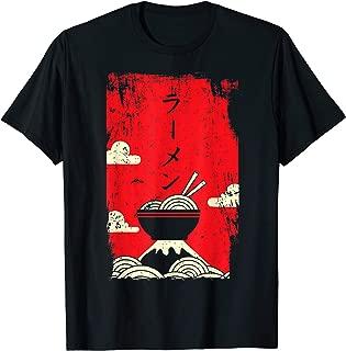 Ramen T-Shirt Noodles Tshirt Japanese Art Tee Shirt