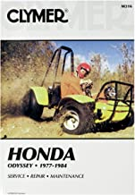 Clymer Manuals Manual Hon Odyssey Fl250 M316