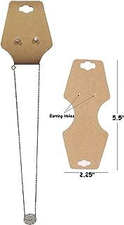 N'ice Packaging 100-Pcs Large Kraft 5.5