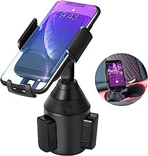 LEXSO Universal Handyhalterung Getränkehalter Auto, Handy Autohalterung für KFZ Getränkehalter Cup Mount 360 Grad Autotassenhalter für Phone 12 MAX 11 PRO Xs Max,XR,X,8,7,Samsung,Huawei,LG,Smartphone