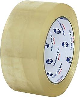 Intertape Polymer Group F4085-05 7100 Medium Grade Hot Melt Carton Sealing Tape, 1.85 mil Thick x 100M Length x 48mm Width, Clear, Case of 36 Rolls