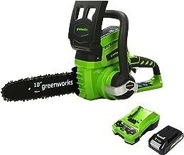 Greenworks Tools Accu Kettingzaag G24CS25K2 (Li-Ion 24V 4 m/s kettingsnelheid 25cm zwaardlengte 50ml olietankinhoud inclus...