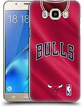 Head Case Designs Oficial NBA Road Jersey 2018/19 Chicago Bulls Carcasa rígida Compatible con Samsung Galaxy J5 (2016)