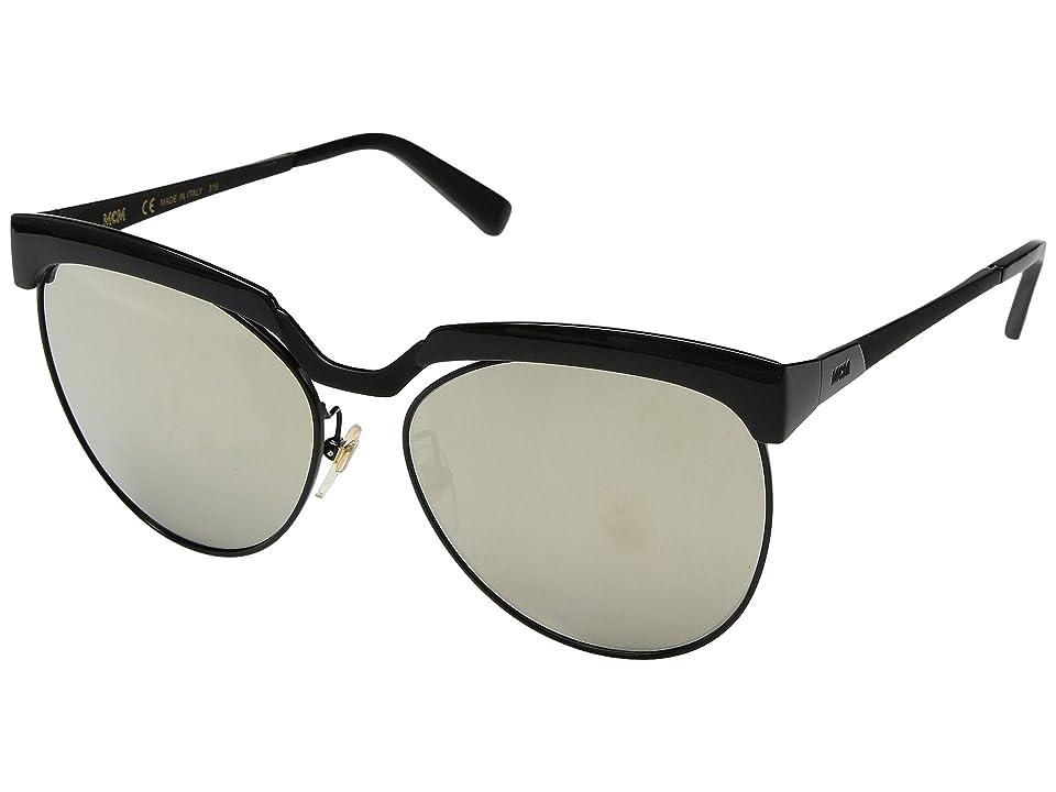 01e7aeb70e46b MCM MCM105SL (Shiny Black Gold Mirror) Fashion Sunglasses
