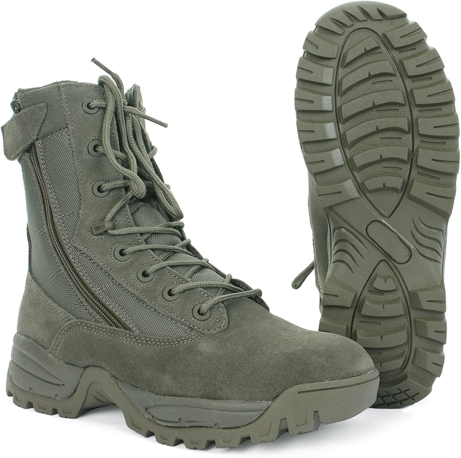TACTICAL BOOT TWO ZIP FOLIAGE