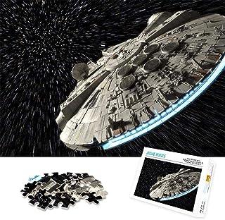RomantiassLu Puzzles pour Adultes 1000 pièces Vaisseau Spatial Star Wars Puzzles de défi de Couleur pour Enfants Jeu Jouet...