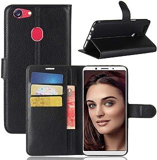 Oppo F5 Wallet case Oppo F5 Flip case, Classy Slim Leather Wallet ID Credit Card Slot Holder for Oppo F5