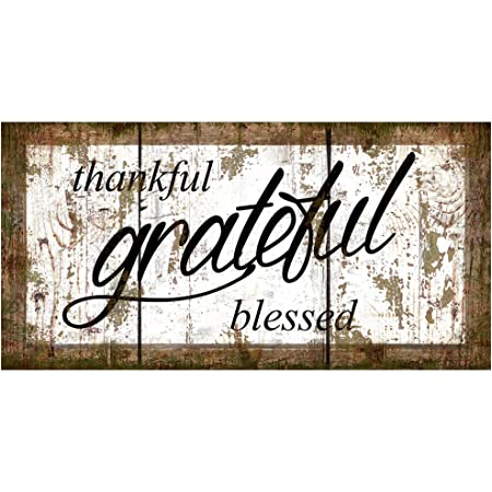 Thankful Amp Grateful Door Wall Du00e9cor
