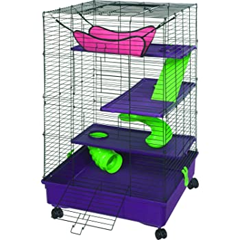 Kaytee My First Home Deluxe, 2X2 Multi-Level with Casters