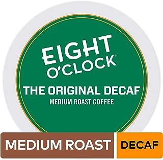 Eight O'Clock Coffee The Original Decaf, Single-Serve Coffee K-Cup Pods, Medium Roast, 72 Count