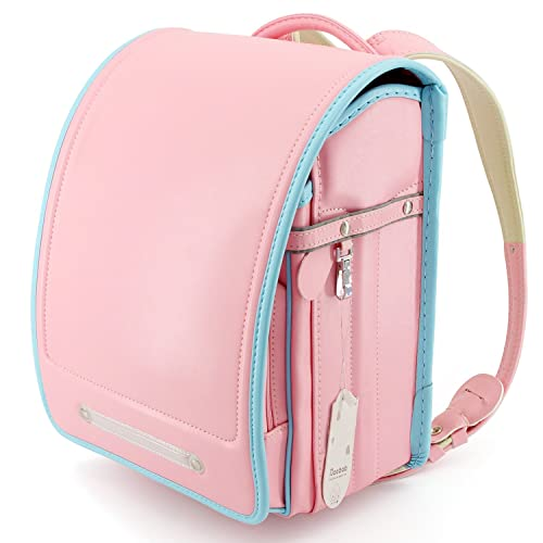 3d139370ff2b Ransel Randoseru Semi-automatic Japanese school bags for girls Senior PU  leather Large capacity light