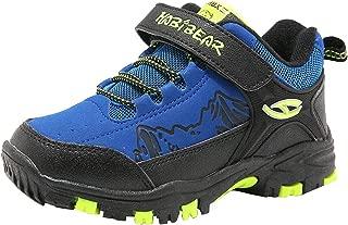 HOBIBEAR Kids Snow Boots Boys Girls Winter Boots Outdoor Warm Shoes Waterproof Hiking Boots(Little Kid/Big Kid)