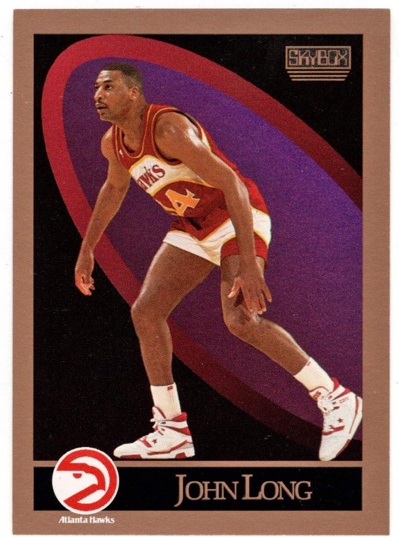 John latest Long - Atlanta Hawks Basketball M Skybox 1990-91 Selling and selling 5 Card #