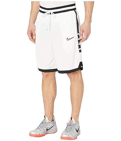 Nike Dry Elite Shorts Stripe (White/Black/Black) Men