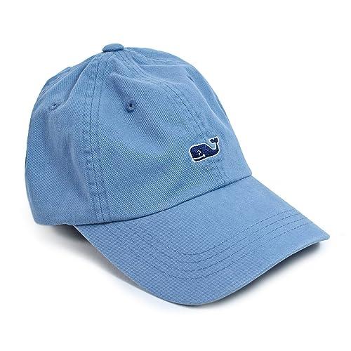 10d0c8cf57c Vineyard Vines Whale Logo Baseball Hat Aqua Blue