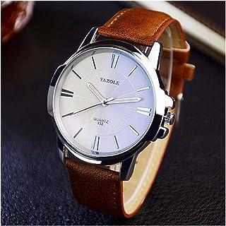 LinTimes Fashion Mens Watch Quartz Analog Business Watch