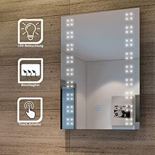 Espejo de cuarto de baño con iluminaci&oacute