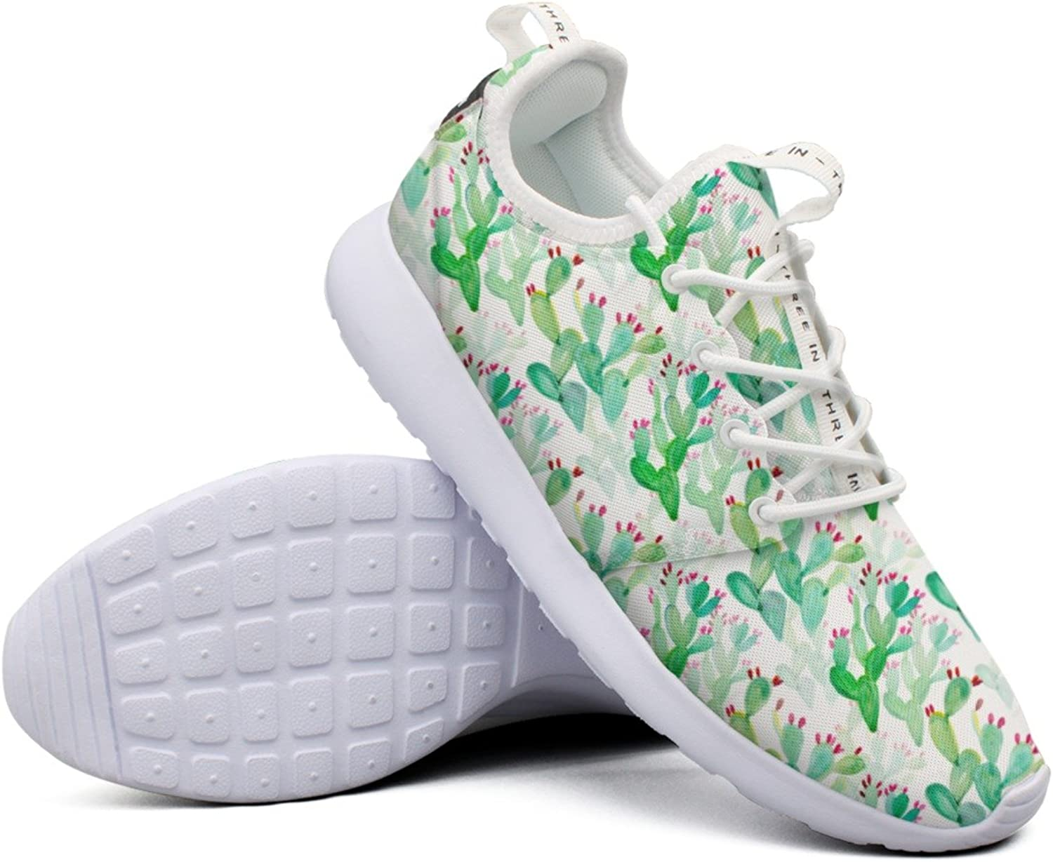 Beautiful Women CactusCactus colorful Top Unique Fashion Running shoes