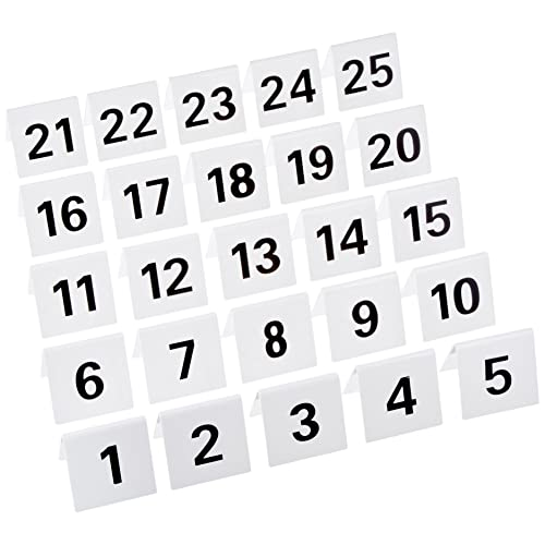 graphic relating to Free Printable Table Numbers 1-20 identify Cafe Desk Figures: