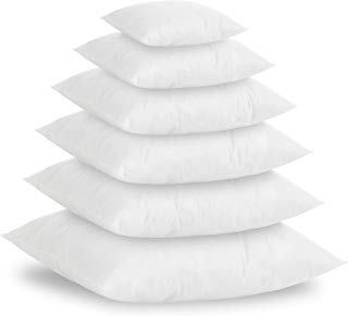 Textilhome - Pack 2 Relleno de Cojín 60x60cm / Poliéster 100% - Fibra Hueca siriconada de Gran Densidad.