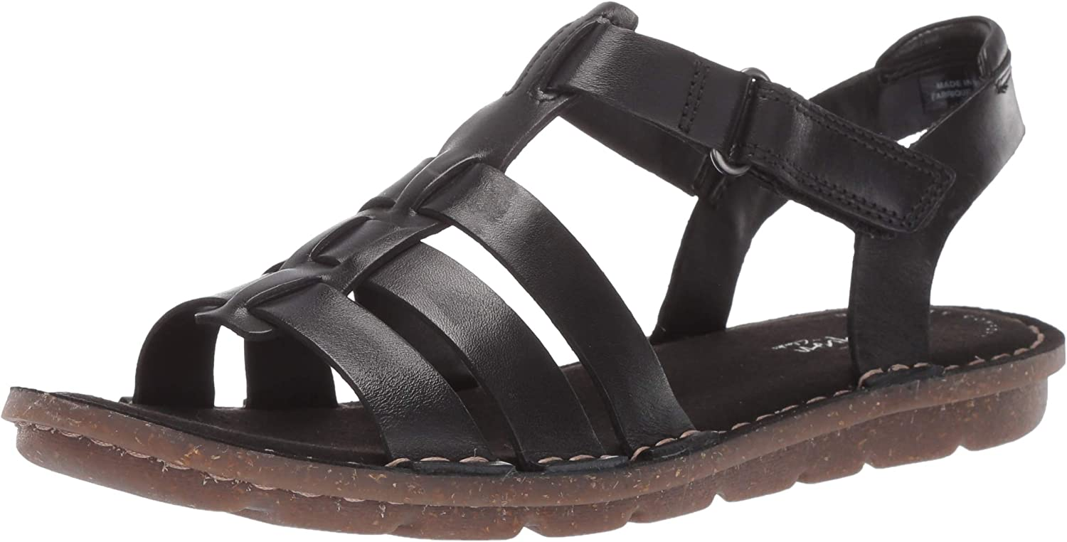 Clarks Womens Blake Jewel Flat Sandals