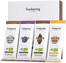 foodspring Organic Paleo Fruit Bar Mix Cocoa Coconut Blueberry Passion Fruit 12-Pack Vegan Raw Food Estimated Price : £ 29,88