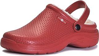 GreenPyrus S1 Sandales Sabots Mules Chaussons Chaussures en Cuir Femme