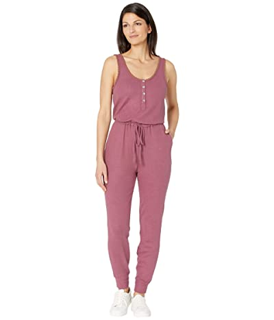 Lucky Brand Cloud Jersey Jumpsuit (Crushed Berry) Women