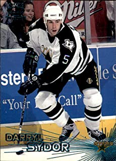 1997-98 Pacific EMERALD GREEN #48 Darryl Sydor DALLAS STARS NHL Hockey Card