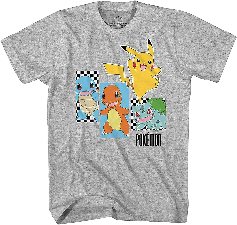 Pokemon Boys Pikachu Game Shirt - Gotta Catch Em All - Official T-Shirt