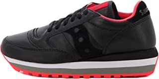 Saucony Sneakers Donna MOD. Jazz Triple W Black Red Leather