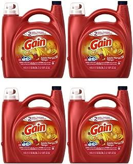Liquid Laundry Detergent, Apple Mango Tango (4 pack)