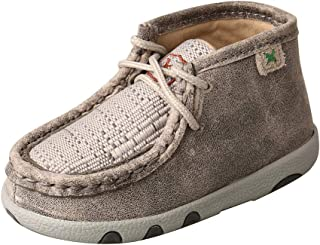 Genuine Leather Infant Chukka Driving Moc Shoes